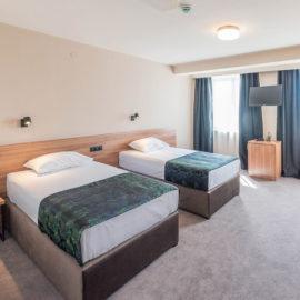 Hotel Aloha - Comfort twin room kreveti | Hotel Niš