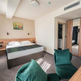 Hotel Aloha - Double room krevet | Hotel Niš